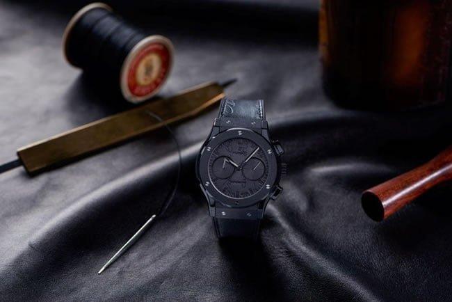 Hublot and Berluti unveil the Classic Fusion Chronograph Berluti