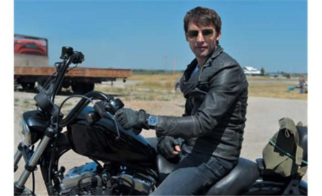 James Blunt wears Iconic Terrascope in Bonfire Heart