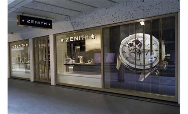 The Zenith boutique on the Rue du Rhône