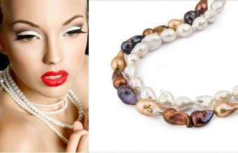 Worldwide prices of pearl necklaces