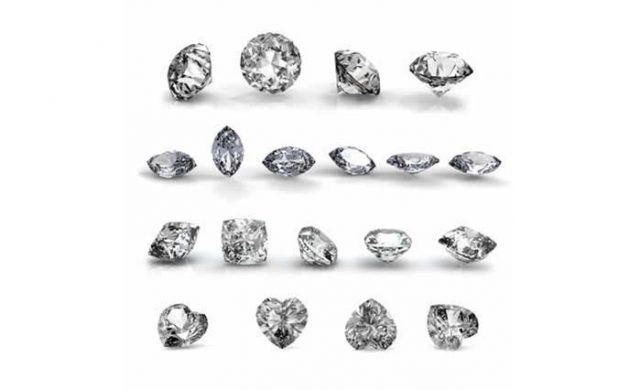 Diamond Shapes - Diamonds are graded based on the 4 C's