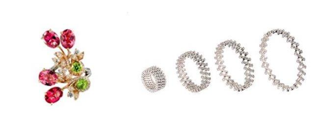 diamond-peridot-and-tourmaline-ring from-Caratell
