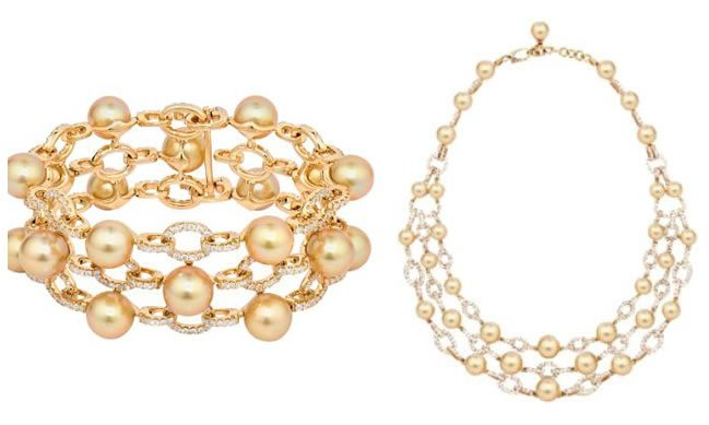 hodel-South Sea golden pearls