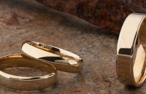 Men's Gold Wedding Rings
