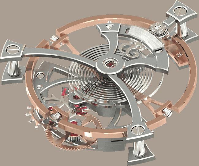 The world's largest Tourbillon displays ultra-precision