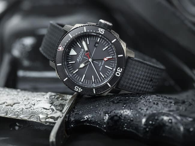 Take A Plunge With Alpina'S New Seastrong Diver