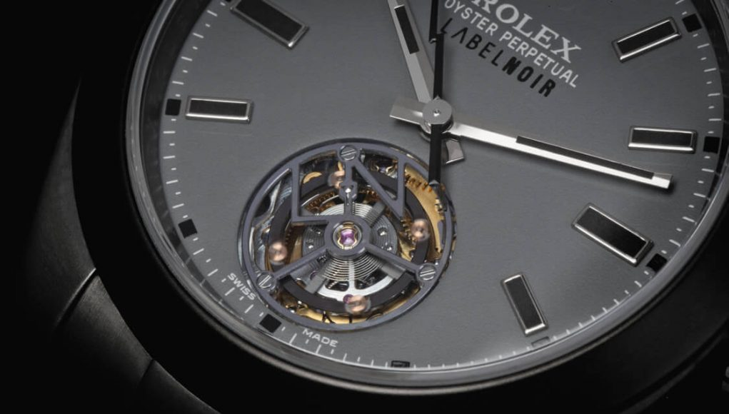 Rolex Tourbillon, world premiere performed by Label Noir