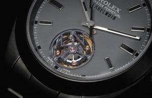 Rolex Tourbillon, world premiere performed by Label Noir