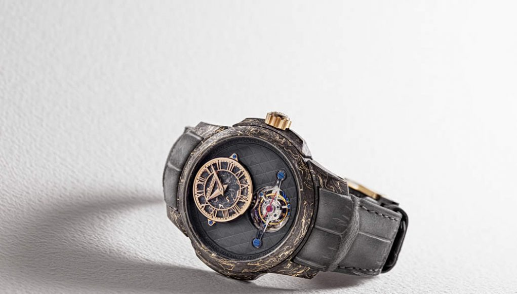 Ateliers deMonaco offers a unique timepiece to support the 2019 Only Watch auction
