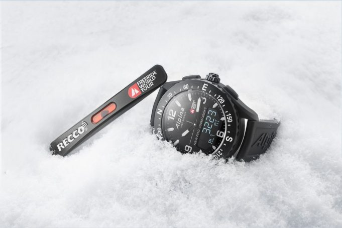 ALPINA Watches' partnership with the Freeride World Tour