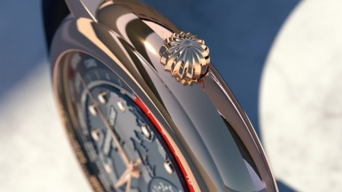 Frederique Constant Classic Worldtimer Manufacture Side Detail