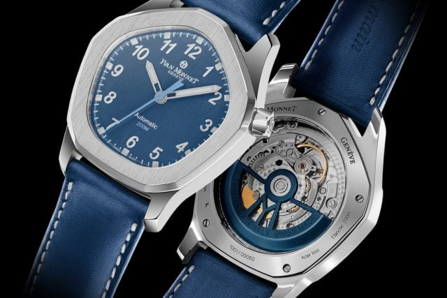 Five watch by Yvan Monnet Genève, Innovative and very rare, the five-sided watch