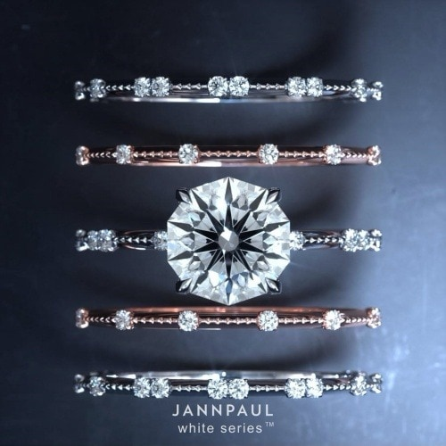 JANNPAUL - The Decagon 10 Hearts & Arrows Diamond