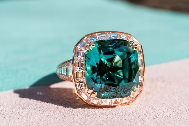 coloured gemstone industry