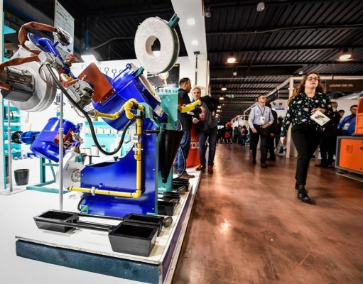 the international show for jewellery machinery and manufacturing